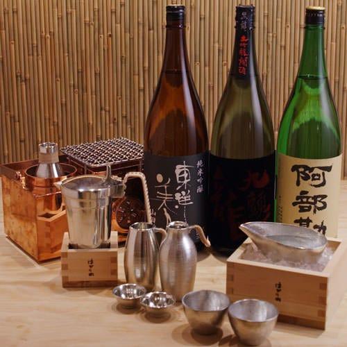 日本各地銘酒をお好きな温度の燗酒で