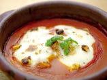 南欧風 あなごと帆立貝の土鍋焼き