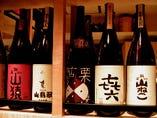 日本酒以外も取揃えています