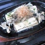 長芋の鉄板ステーキ