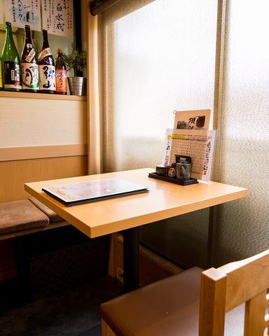 北新地 マグシェ ~マグロと日本酒~  店内の画像