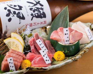 北新地 マグシェ ~マグロと日本酒~  こだわりの画像