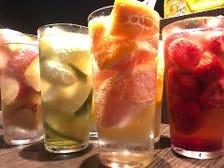 当店おすすめの凍結フルーツ酎ハイ