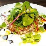 冷菜からお食事に至るまで青魚の美味しさに拘りました。