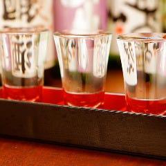 【大好評】日本酒飲み比べ