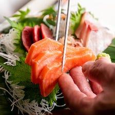 季節の美味いが揃う!ご宴会コース