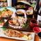 高級魚のどぐろや阿波尾鶏の「ころがし焼き」など豪華10品仕立て