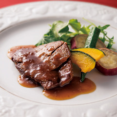 国産牛フィレ肉の中国式ステーキ