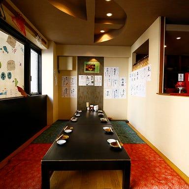 天然鮮魚と地酒 魚人本店 西中島  店内の画像