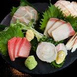旬の鮮魚盛り合せ 3種・4種