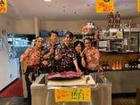 鮮魚解体ショー不定期で開催しております!!