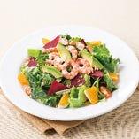 海老とアボカドのパワーサラダ