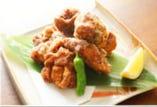 甲州健味鶏の竜田揚げ