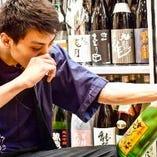 1,徹底的に品質管理。2,酒のプロフェッショナル利酒師が常駐。