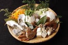 食材は新潟・富山・石川・福井・長野