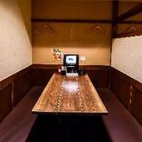テーブル半個室(~4名様)