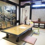 お座敷個室はご接待や記念日にも最適な和の上質空間です。