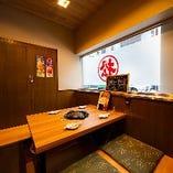 【リニューアル】掘りごたつの完全個室席