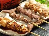 おまかせ串焼き5種盛り