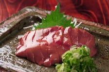 新鮮☆鶏レバーの刺身