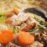 熊野地鶏のコラーゲンたっぷり濃厚水炊き