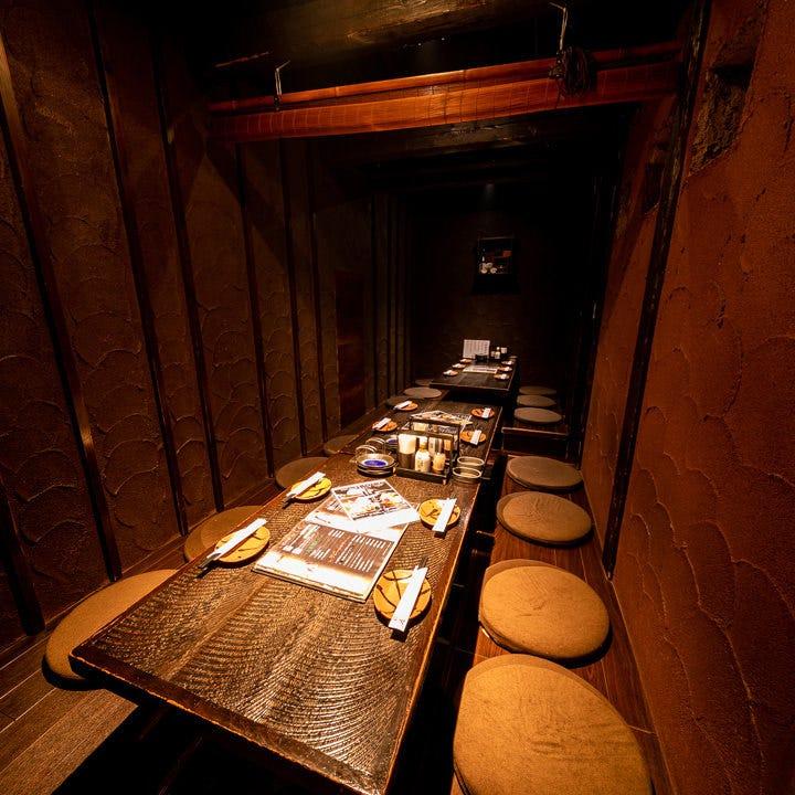 宴会に最適の7~30名様個室。古民家な雰囲気でほっこり宴会!