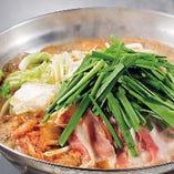 ・九州産豚のキムチ鍋 ⇒【+500円】で米澤豚にグレードUP