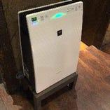 ④高機能換気システム導入&プラズマクラスター空気清浄機設置
