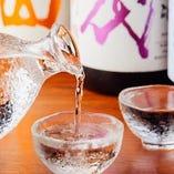 季節の日本酒をご用意
