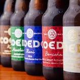 ビアソムリエ監修の美味しいクラフトビールをご提供!