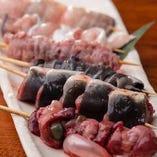 串焼きでは、うなぎを丸ごと味わえる