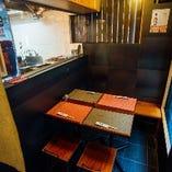 【テーブル席有】 ゆったりくつろげるテーブル席は記念日にも◎