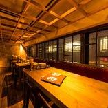 【2階】テーブル席(~18名様)