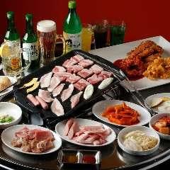 サムギョプサル&韓国料理食べ放題 豚.com 池袋本店