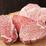 石窯炭焼国産黒毛和牛A4 モモステーキ