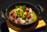 New!  岡山産牡蠣と海の幸のアヒージョ