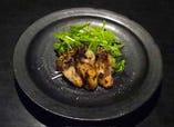 New!  岡山産牡蠣の網焼き