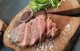 石窯炭焼国産黒毛和牛A4 ヒレステーキ