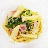 【New!】 春野菜のペペロンチーノ
