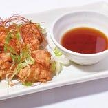 柚子胡椒で食べる 唐揚げ・ライスセット