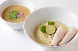 魚白湯塩つけ麺