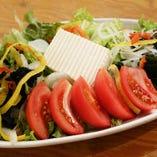 旬彩と豆腐のサラダ