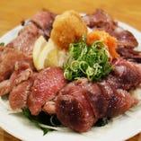 鮪ホホ肉タタキ