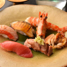 創作意欲溢れる江戸前寿司