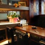 【ほっこり個室】 2名〜8名の個室も完備しております。