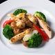 牛フィレ肉と季節野菜の黒胡椒炒め