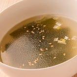 ふんわり卵とワカメのスープ