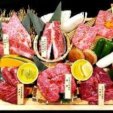 【厳選国産黒毛和牛】個室宴会コース