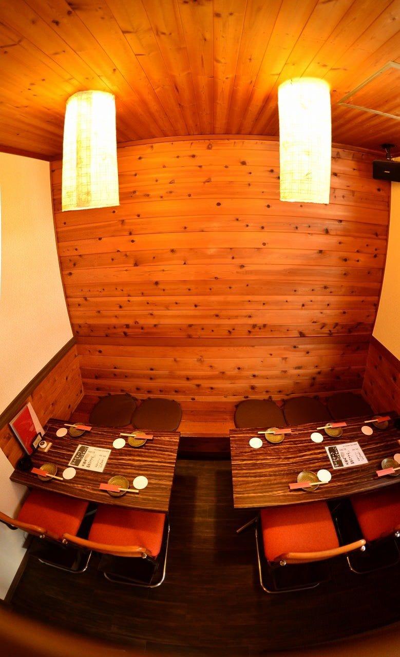 ◆3名様から予約可!テーブル個室