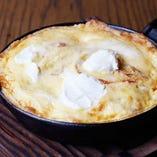 濃厚チーズの窯焼きオムレツ